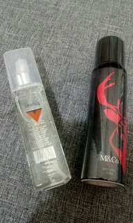 M& Co cologne (2 for Php500)