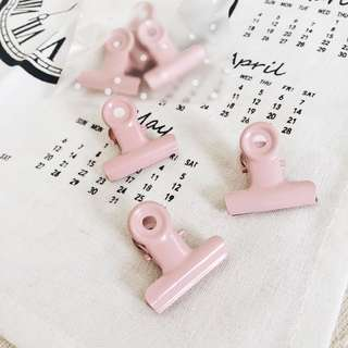 Pastel Pink Clips