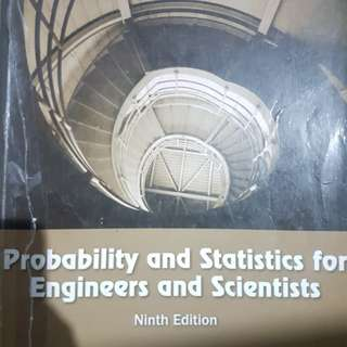Probability and Statistics for Engineers and Scientists 9th Ed