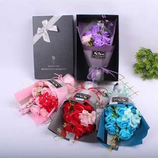9 Soap gift box rose