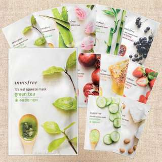 [$1] Innisfree It's Real Squeeze Mask