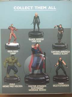 NO MEETUPS - LALAMOVE OR GRAB EXPRESS ONLY. SOLD AS SET ONLY. FIXED PRICE. Avengers Infinity War Die Cast Metals Marvel