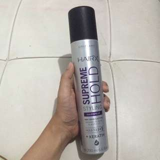 Oriflame HairX Suprem Hold Styling Hairspray