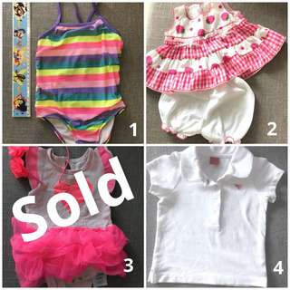 2 for $6; all $8 (3-6 months old)
