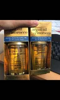 美國代購>有機摩洛哥堅果深層滋養精華護髮油 現貨*1