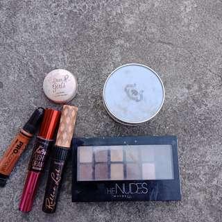Authentic make up bundles