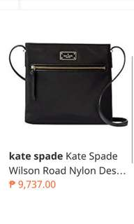 Brand New Kate Spade Sling bag nylon Dessi