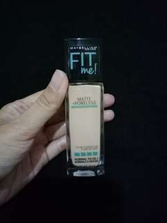 Maybelline fit me matte poreless foundation 120.classic ivory