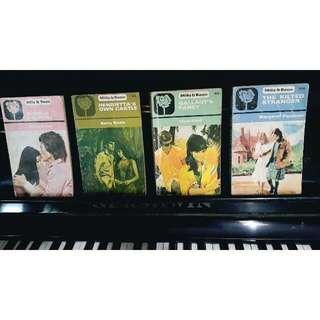 1970's Mills & Boon Romance Story Books