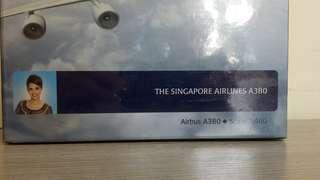 星加坡航空a380飛機模型