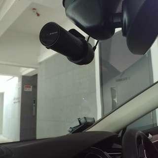 DR750-2CH installed on Volkswagen Passat
