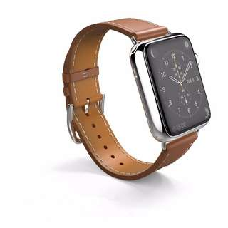 Instock #JANSIN Handmade Leather Apple Iwatch Strap
