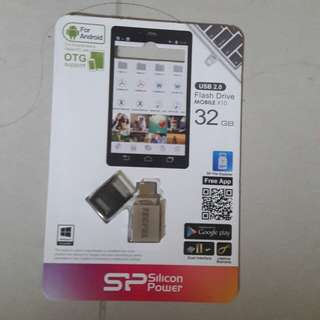 🚚 廣穎OTG Mobile X10 雙享碟 SP032GBUF2X10V2C