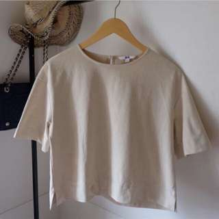 Uniqlo S Blouse Top Preloved