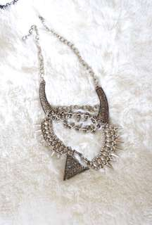 Edgy Metal Necklace