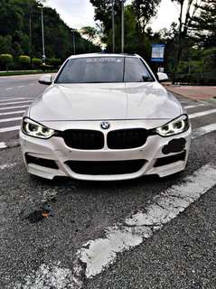 SAMBUNG BAYAR/CONTINUE LOAN  BMW F30 328i LUXURY YEAR 2012 MONTHLY RM 3300 BALANCE 1 YEAR + ROADTAX VALID  DP KLIK wasap.my/60133524312/f30