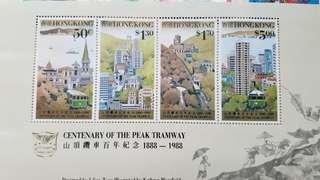 香港 山頂纜車100週年紀念票
