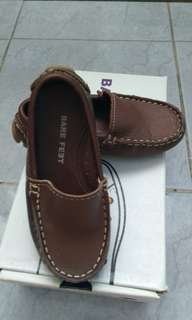 Brown leather (soft) loafers