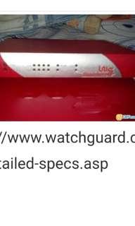 WatchGuard Firebox Edge X20e and SOHO 6tc vpn firewall