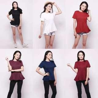 (NEW) Peplum Shirt