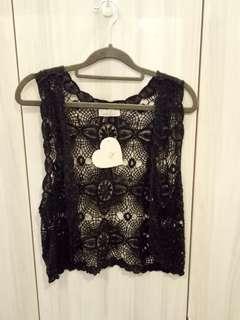 BNWT Love Bonito Lace Sleeveless Vest