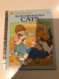 My Little Golden Book About Cats - Little Golden Book