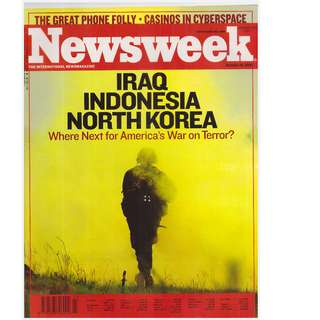 Newsweek Magazine (October 20, 2002 issue)