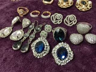 SUPER SALE!!! 💯Almost New✔️Fashion Crystals and diamonds Jewerly✔️😍