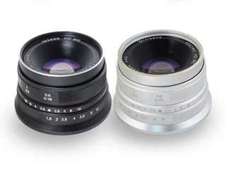 7artisans 25mm F1.8 (for Fuji or Sony-E mount)