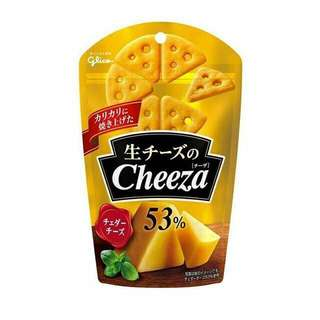 Cheeza cheese crackers