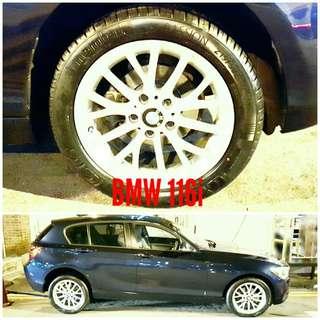 Tyre 215/50 R17 Membat on BMW 116i 🐕 Super Offer 🙋♂️