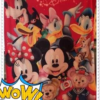 🚚 Disney 迪士尼 限量 毯子