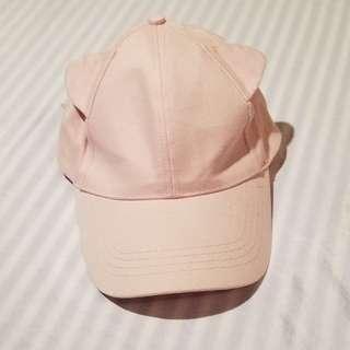 Ardene Pink Cat Ear Hat