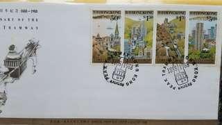 香港郵政 山頂纜車一百週年紀念首日封