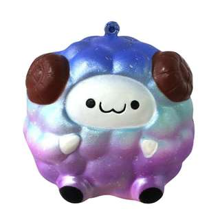 (PRE-ORDER) Soft Galaxy Sheep Squishy Slow Rising