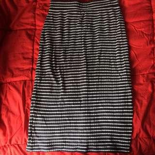 Stripped skirt