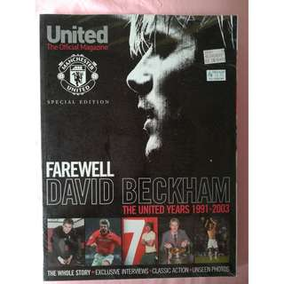 Farewell David Beckham - Official Magazine