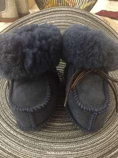 兒童中性雪靴