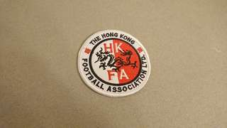 Hong Kong Football Team Iron Badge 港隊熨章