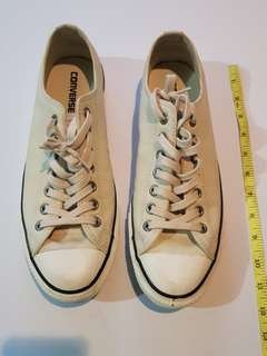 Repriced! Authentic Leather All Star Converse White