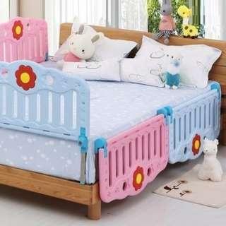 加厚兒童BB床欄(包送貨)60CM /90CM *不同厚度床墊佳可使用*防跌護欄BB小童兒童幼兒家居保護圍欄