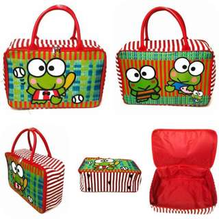 Travel bag tas koper jinjing keroppi 2 warna