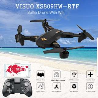 Visuo XS809HW With Altitude Hold Drone