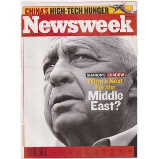 Newsweek Magazine Issue (January 16, 2006 issue)