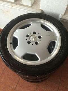 Benz AMG Rim