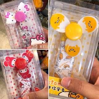 Sanrio Mini Handheld Fan