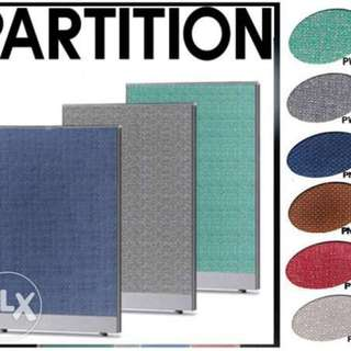 office partition table