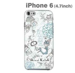 Hamee Shinzi Katoh Design 插畫系列 iPhone6 手機殼 愛麗絲夢遊仙境