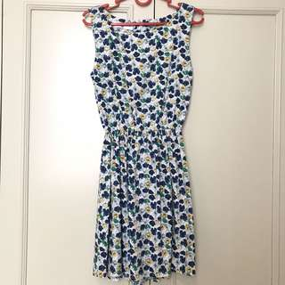 Flower Dress Blue