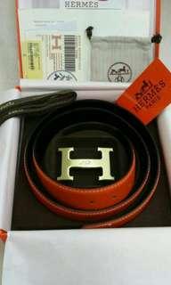 Hermes Belt Orange Color